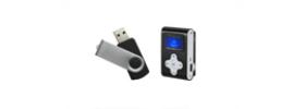 USB laikmenos, MP3 grotuvai