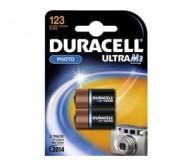 CR123 Duracell 3V elementas