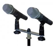 CST352/B laikiklis 2 mikrofonams