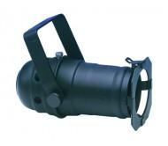 PAR16B/GU10 prožektorius juodas