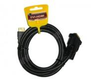 KP03701-3 laidas DVI-HDMI 3m