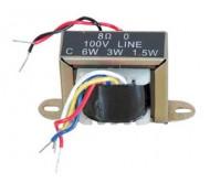 TR1006 transformatorius 100V 6W 4-8 OMH