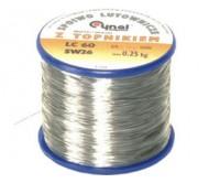 LC60-0.25/0.25 lydmetalis 0.25kg
