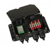 LDP-JUNCTION IP68 paskirstymo DMX dėžutė prožektoriams