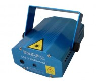 LAS-S130RG-M-BL lazeris 130mW RED-GREEN-BLUE