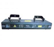 LAS250RG4 lazeris 250mW 2xžalias/2xraudonas