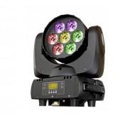 BT-W07L12 judančios galvos WASH šv. efektas LED 7x12W