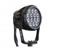 Stage Beamer Mk2 OUTDOOR prožektorius LED; 14x 3W Tri-Color