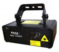 IBIZA200RGY lazeris DMX su pulteliu