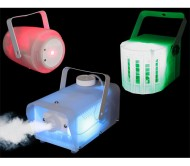 CLEAR-PACK šv.efektų rinkinys: dūmų mašina + lazeris + šv. efektas