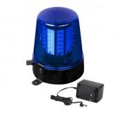 LED Police light mėlynas šviesos efektas