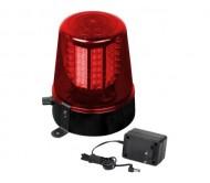 LED Police light raudonas šviesos efektas