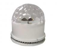 UFO-ASTRO-WH šv.efektas dual RGB LED
