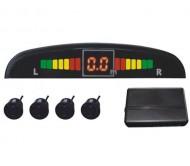 PAS104A parkavimo sistema 4 jutikliai, LED, juoda
