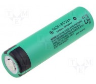 ACCU-NCR18650AC akumuliatorius 3.6V 3100mAh Li-on