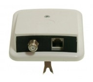 GNI0512 paskirstymo dėžutė SAT GN.F+GN.RJ12