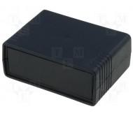 KM-35BN dežutė X:64.5mm Y:89.3mm Z:36mm juoda