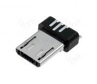 ESB22B112101Z kištukas microUSB PIN:5 USB 2.0 1.8A 100V