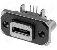 MUSB-K152-30 lizdas USB micro lituojamas 5 kontaktų