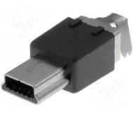 MUSB-W5P kištukas USB MINI PIN:5