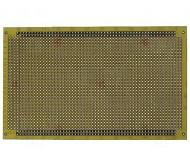 PP-UM26 tekstolitinė plokštė 100X160mm 2147 taškai