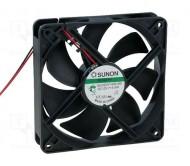 KD1212PTS1-6A ventiliatorius 12VDC; 120x120x25mm; 44.5dBA