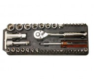 I-8PK227 raktas su keičiamomis galvutėmis 40 vnt.