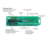 I-1PK1168 įrankių rinkinys kompiuterio remontui