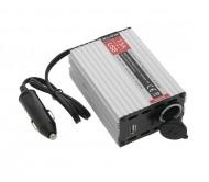 HQ-CONV.15AUSB įtampos keitiklis 20-30V DC/12-13.8V DC 15A+USB