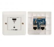 128.811 HDMI signalo perdavimo rinkinys HDMI>CAT5>HDMI 30m