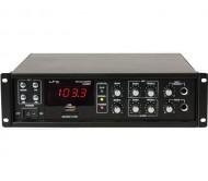 PAA80BT stiprintuvas 50/80W 100V/8Ohm USB-BLUETOOTH PA80BT