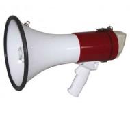 MEGA50W megafonas su įkraunamu akum. 50W RECORD+SIREN