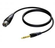 CLA724/1.5 laidas XLR - 6.3 mm stereo 1.5m