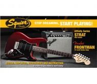 030-1614-609 elektrinė gitara PK STRAT HSS + 15G AMP