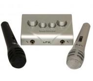 KSM10 mikšeris karaoke su 2 mikrofonais