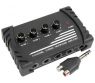 HA-04 ausinių stiprintuvas 4 kanalų