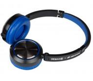HEADZ BLUE DJ ausinės su prijungiamu mikrofonu
