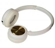 HEADZ WHITE DJ ausinės su prijungiamu mikrofonu