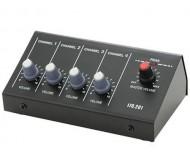 MM4 mikrofono mikšeris 4 kanalų