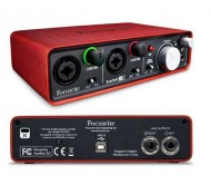 Focusrite Scarlett 2 i 2 audio interfeisas