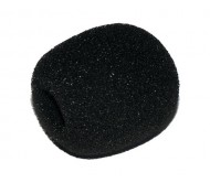 MIK1576A mikrofono gaubtas juodas