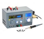 ZD8901 litavimo stotelė, multimetras, maitinimo šaltinis