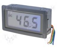 PAN.LCD20V panelinis įtampos matuoklis 0...20 V DC