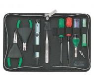 I-1PK615 įrankių rinkinys (dujinis lituoklis , replės , kąstukai , atsukt.)