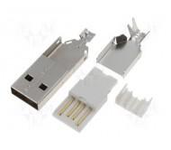 USBA-W kištukas USB-A lituojamas