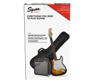 PK SQ STRAT BSB GB 10G 230V EU elektrinės gitaros ir stiprintuvo rinkinys