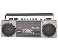 ACE kasetinis grotuvas sidabro sp., BT/MP3/USB/SD