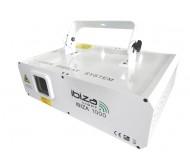 IBIZA1000 lazeris 1000mV RGB ILDA