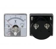 2406 analoginis voltmetras su šuntu 0-20Vdc