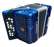 25K12BS armonika mėlyna